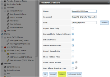 ZFS FreeNAS iSCSI CIFS RAID-Z | AJ's Data Storage Tutorials