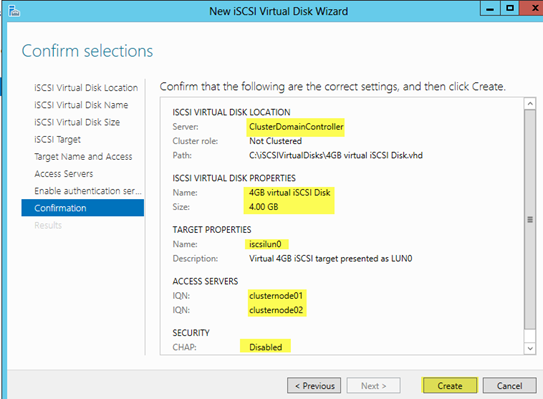 Windows 2012 Cluster HOWTO | AJ's Data Storage Tutorials