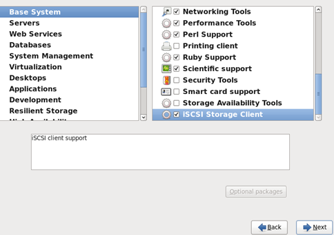 At the customize screen select other components (such as the GUI environment) as necessary.  sc 1 st  AJu0027s Data Storage Tutorials & Red Hat Cluster HOWTO | AJu0027s Data Storage Tutorials