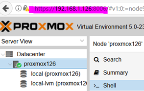 Proxmox Nas